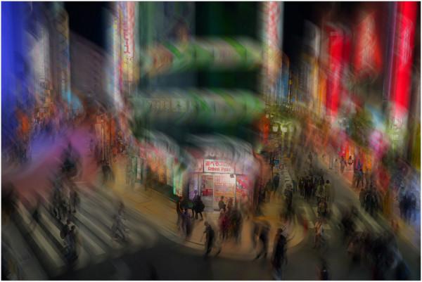 Soirée à Shibuya, Alain Muzet