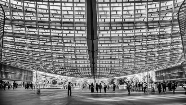 Canopée des Halles, Bruno Suignard