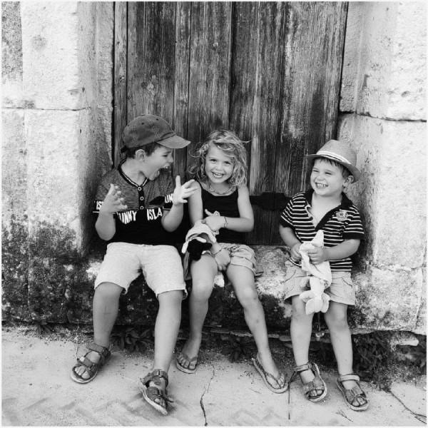 Eclat de rire (R. Doisneau), Jacqueline Thabuteau