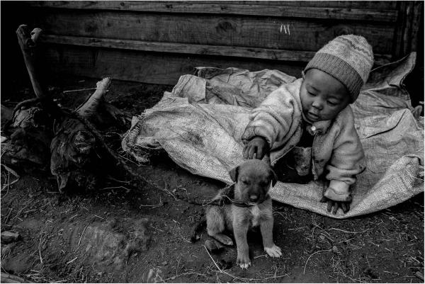 L'enfant et le chien, Marcel Benhamou