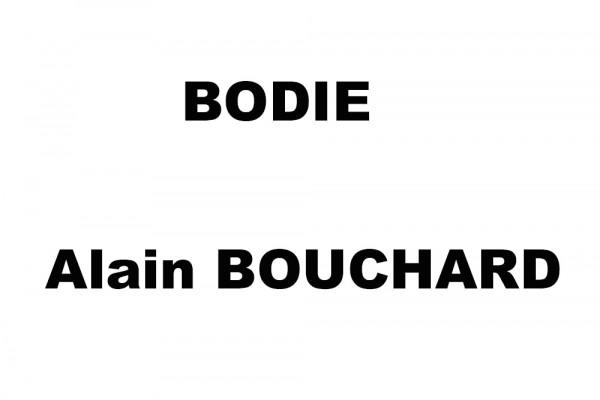 BODIE, Alain BOUCHARD