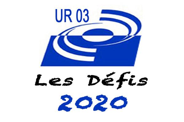 Les défis de l'UR3 en  2020