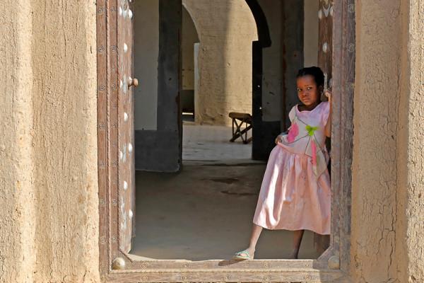 La petite fille en rose - C. Sicard